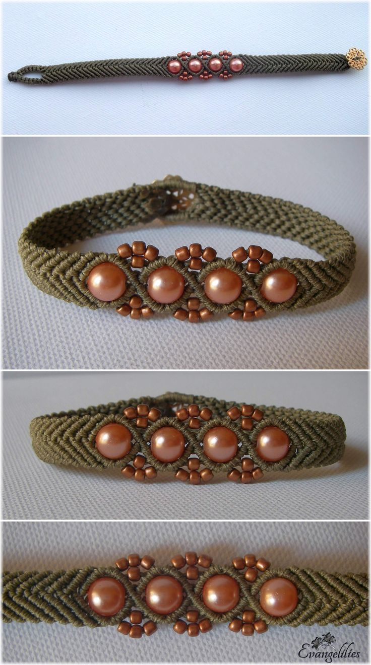 Another take on the chevron bracelet: As per usual, video tutorial by the wonderful 'Macrame School' here: https://www.youtube.com/watch?v=agIDOhzCYjU great worj please visti my shop MacrameLoveJewelry.etsy.com                                                                                                                                                      More