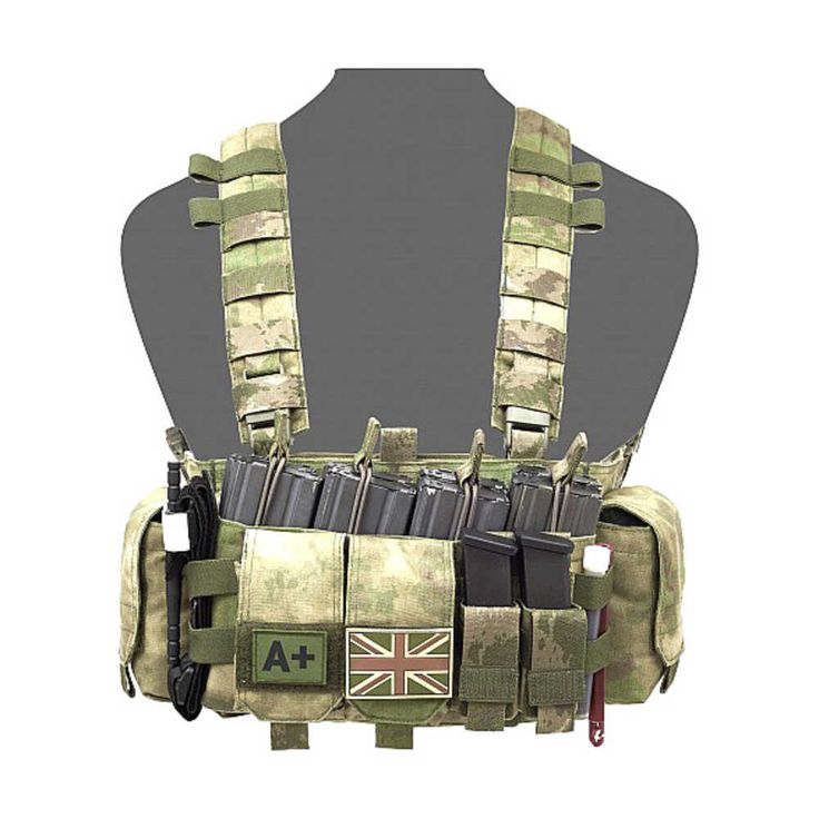 Warrior Falcon Chest Rig A-TACS FG