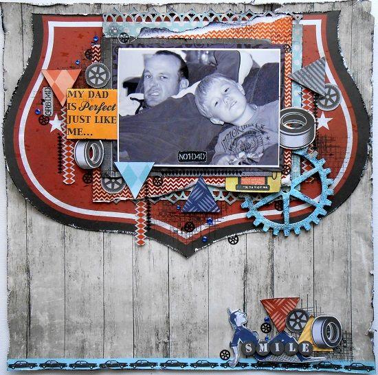 Layout-Garage days - Rachael Funnell