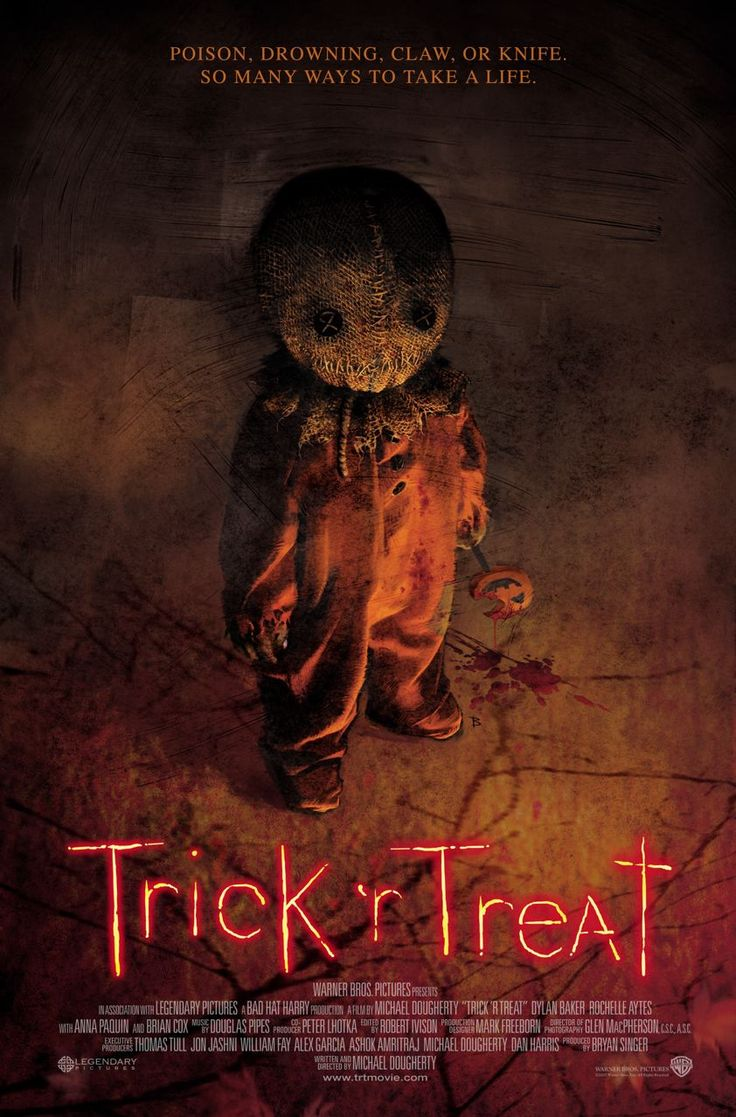 You got to love Sam from 2008's Trick R Treat