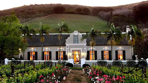 La Grande Roche, Paarl, close to Capetown, South Africa. This is where we're staying!