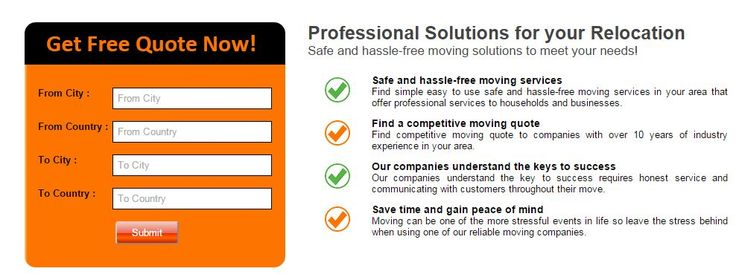 Free Moving Quotes 17 Best Free Moving Quotes Images On Pinterest  Canada
