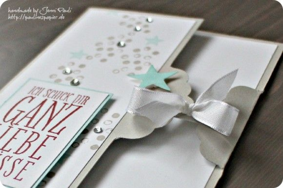 scalloped tag topper punchChristmas Cards, Stampin Up Scallops Tags Punch, Tags Toppers, Occasion Ideas, Www Paulinespapier D, 9 Januar 2014, Cards Karten, Toppers Punch, Pauline Papier