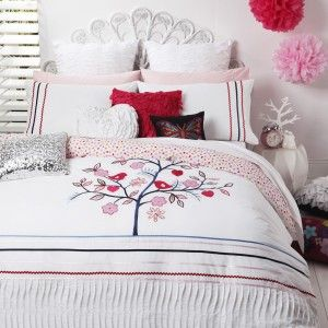 Bridie Pink Duvet Cover Set by Logan and Mason
