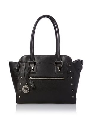 54% OFF London Fog Women's Chelsea Satchel (Black)