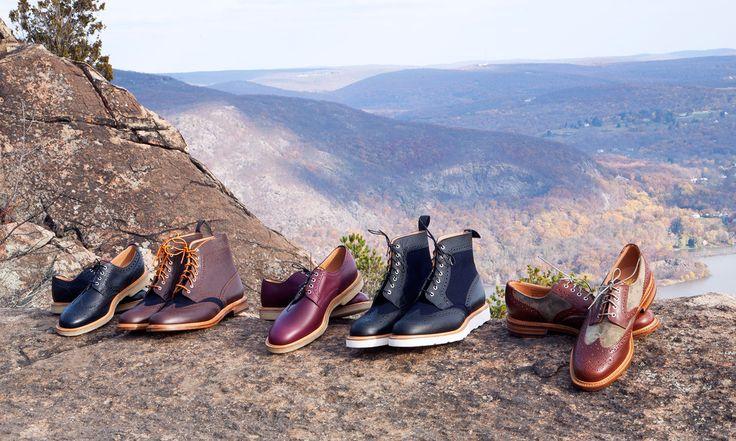 Woolrich Woolen Mills Fall/Winter 2014 Footwear By Mark McNairy. http://www.selectism.com/2014/11/13/woolrich-woolen-mills-footwear-mcnairy/