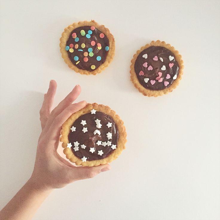 Mini chocolate tarts ❣