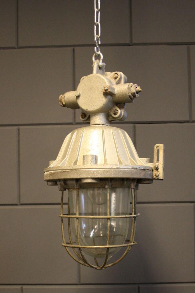 Vintage factory lamp