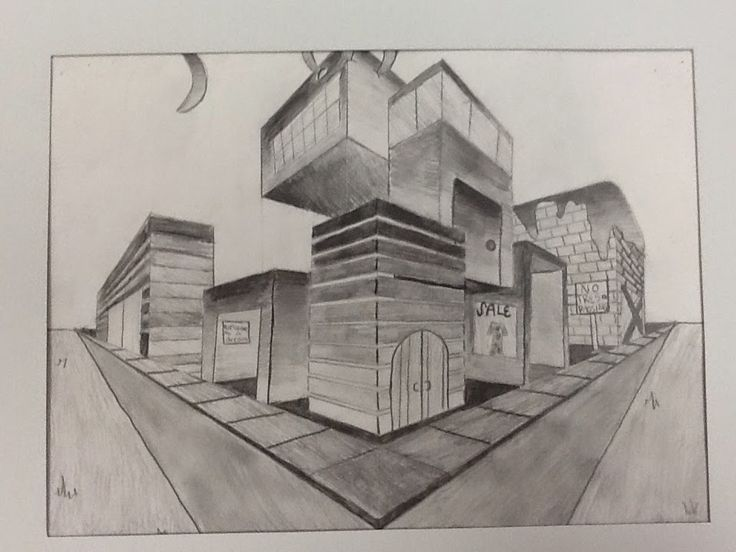 Best Perspectief Images On Pinterest Perspective Drawing