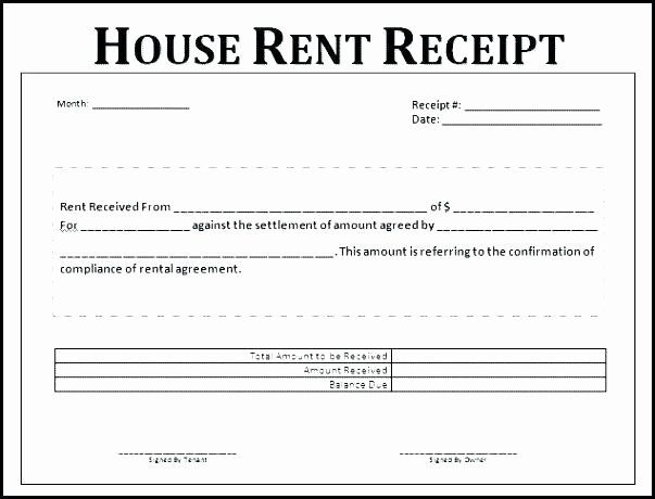 House Rent Receipt Template Awesome House Rent Receipts Yolarcinetonicco Format Receipt Template Word Template Estimate Template