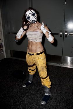 BAdass borderlands cosplay ---- My Psycho cosplay features on IGN.com's Top Cosplays of SDCC! :D