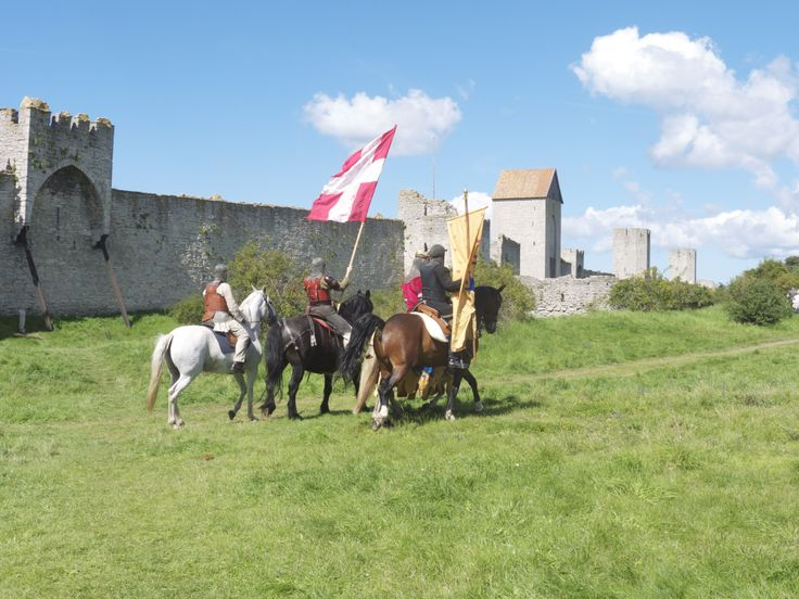 Battle of Visby photo by Merry Folk Medeltidsveckan http://www.medeltidsveckan.se/