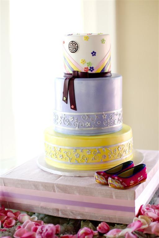 Korean 1st birthday cake