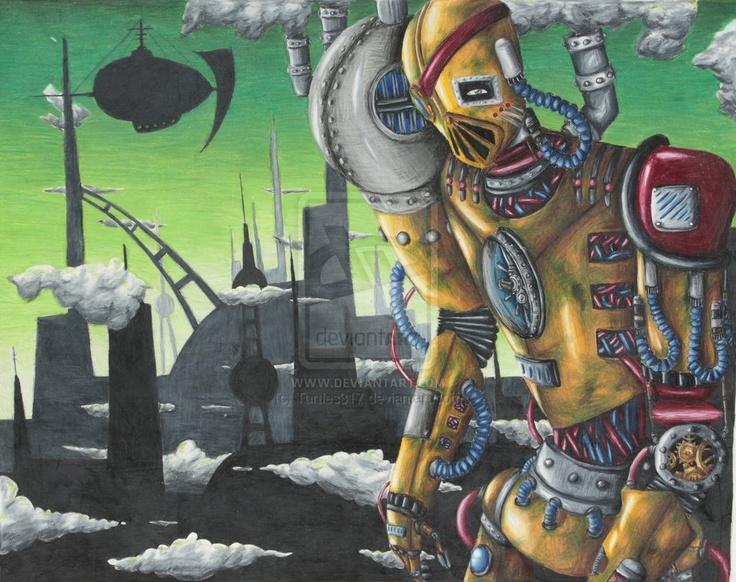 Machine Man by Turtles317