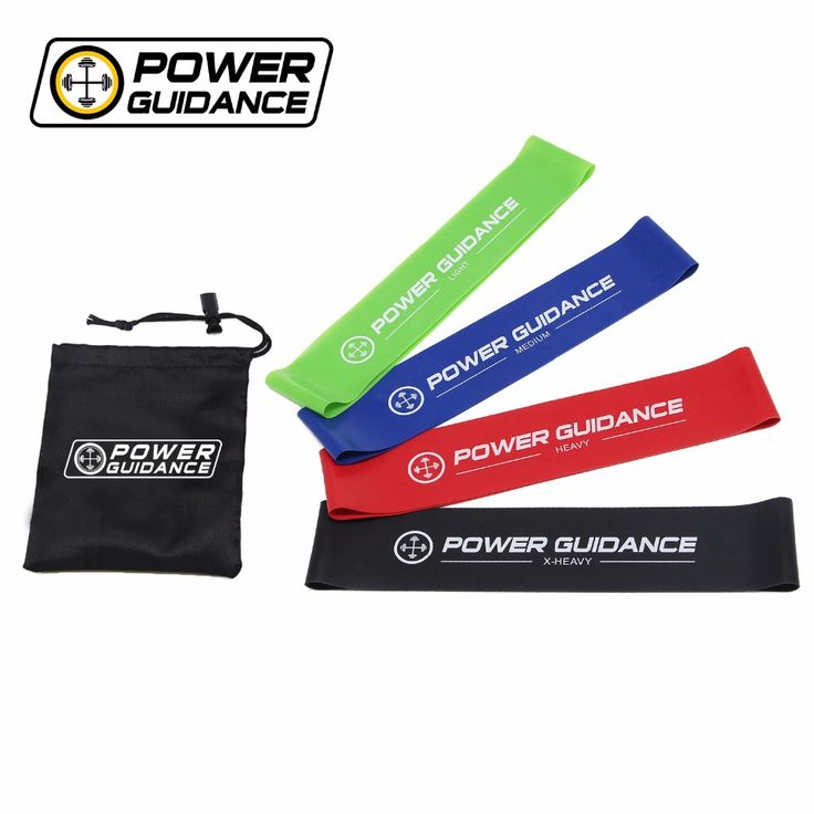 <Click Image to Buy> POWER GUIDANCE Latex Resistance Bands Loop FitnessBands Set - Exercise Sport Bands For Legs And Arms - Carry Bag ~  #Fitness