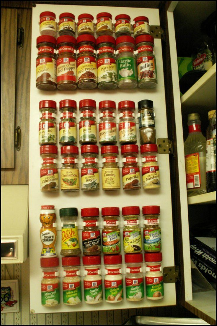 Give Your Spice Jars The Space Visibility And Easy Access