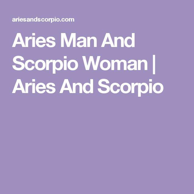 Aries Man And Scorpio Woman | Aries And Scorpio