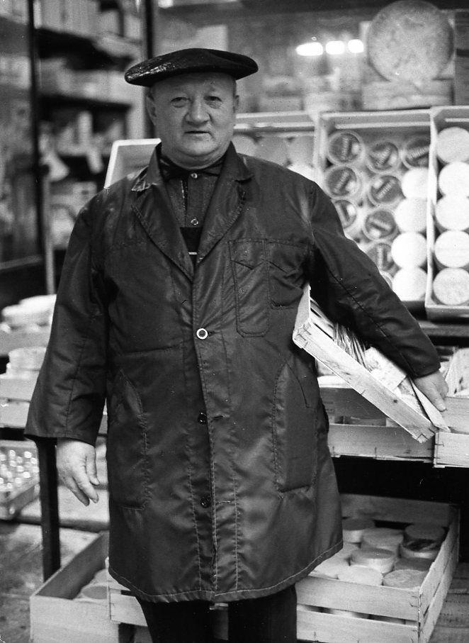 Un homme à la crème, Paris 1967 by Robert Doisneau