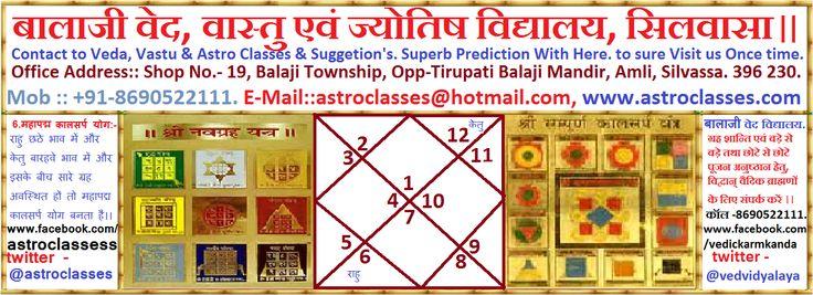 Veda, Vastu & Astro Classes, Silvassa.: Mahapadma Namak KaalSarpa Dosha. महापद्म नामक कालस...