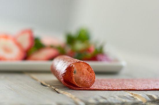 Strawberry Banana Fruit Leather