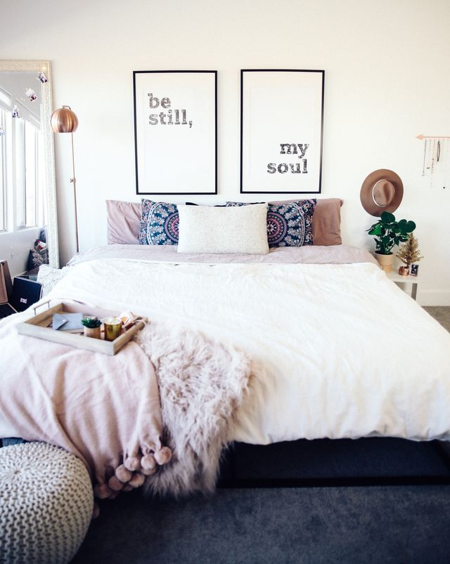 Hey guys! Today I am sharing some pictures of our new room decor. I always like to switch up my decor around the holidays and usually I get a little more festive but this year I wanted to just keep th