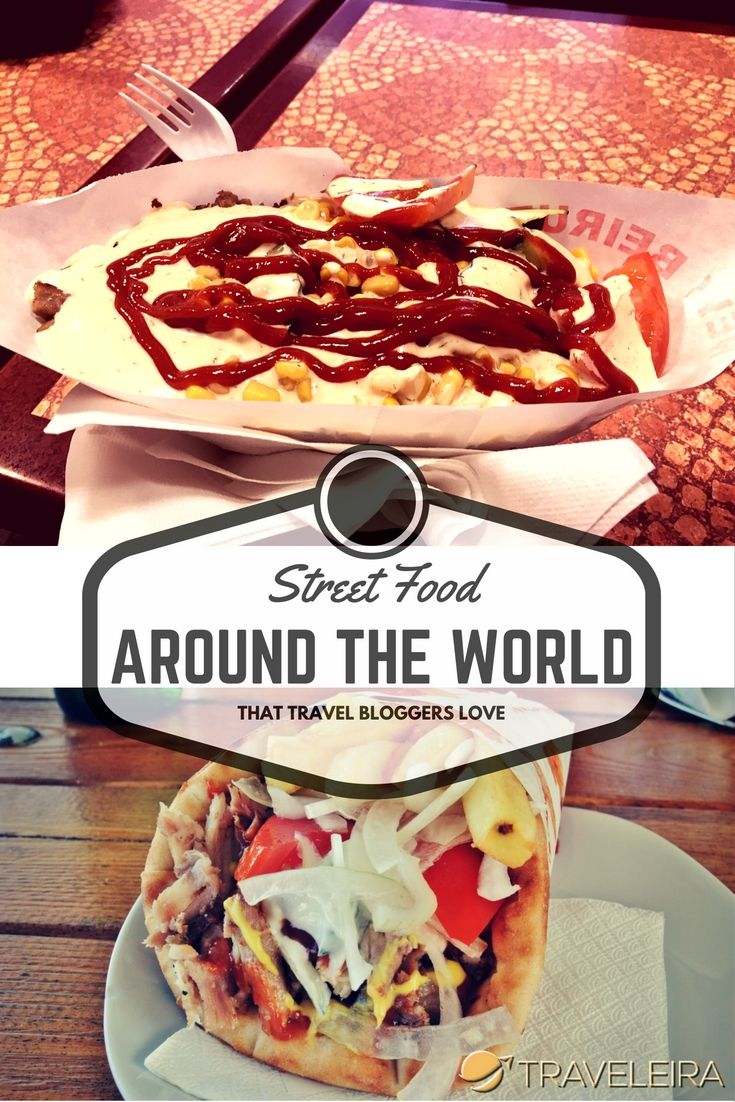 These are some of Travel Bloggers' favorite street food.