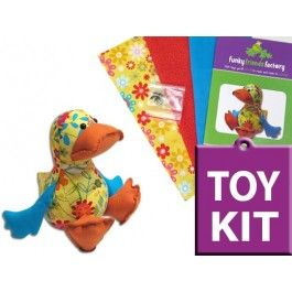 Dilby Duck Toy-making CRAFT KIT