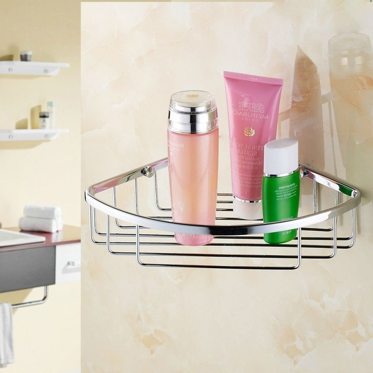37.00$  Buy here - https://alitems.com/g/1e8d114494b01f4c715516525dc3e8/?i=5&ulp=https%3A%2F%2Fwww.aliexpress.com%2Fitem%2FStainless-Steel-Kitchen-Bathroom-Corner-Storage-Basket%2F32779435474.html - Stainless Steel Kitchen Bathroom Corner Storage Basket