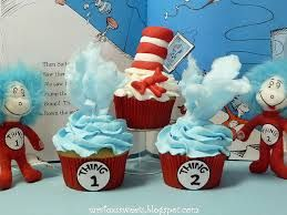 Image result for dr seuss cupcakes