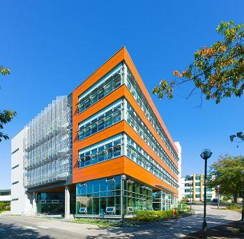 North America's greenest building -- University of British Columbia, Vancouver, BC, Canada. Credit: Don Erhardt)