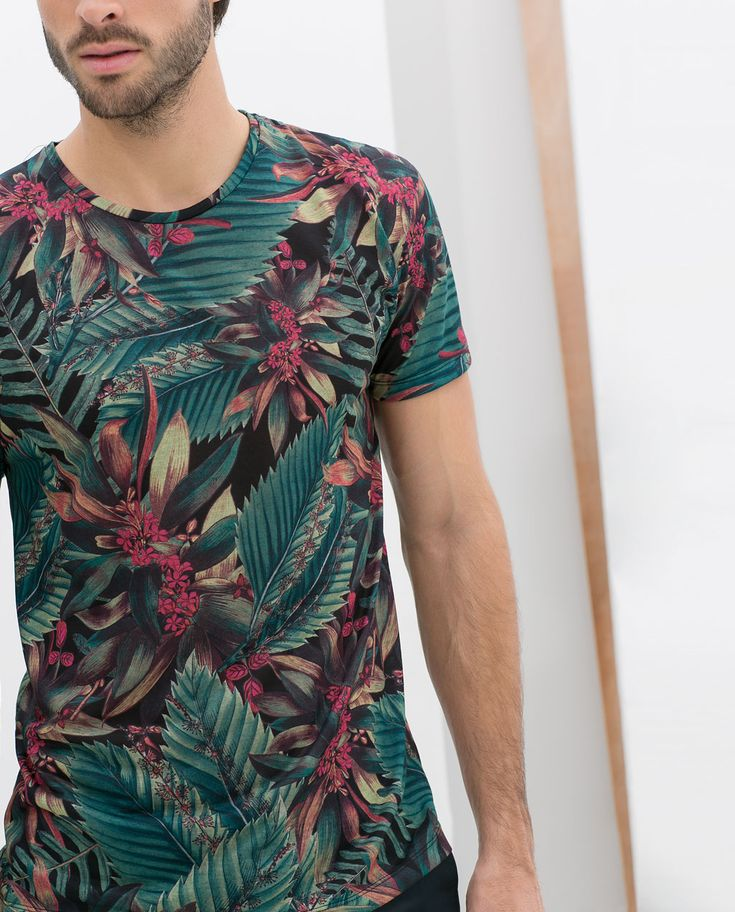 Image 2 of TROPICAL T-SHIRT from Zara