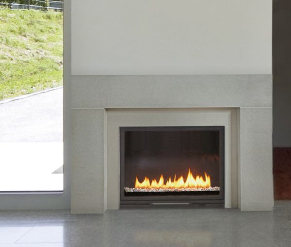 Best 20 concrete fireplace ideas on pinterest contemporary fireplaces modern fireplace and - Build contemporary fireplace ideas ...