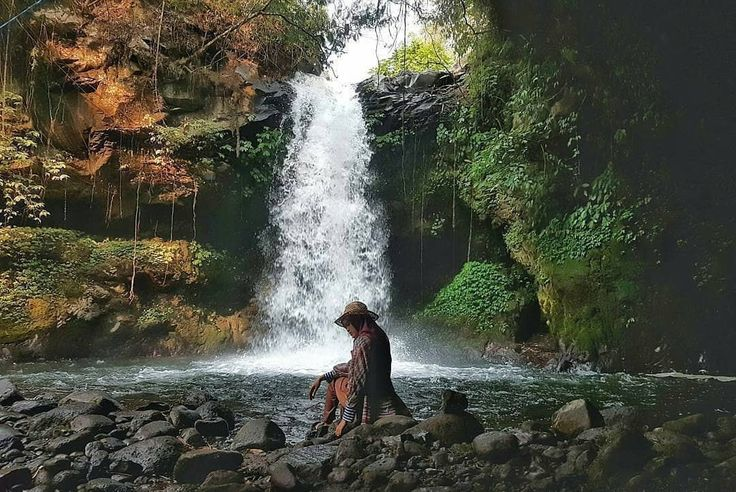 Coban Jidor Waterfall, a hidden paradise in #Malang, East Java, #Indonesia  Photo by: IG @faviaveroni