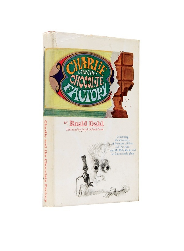 Charlie And The Chocolate Factory by Roald Dahl First Edition 1964