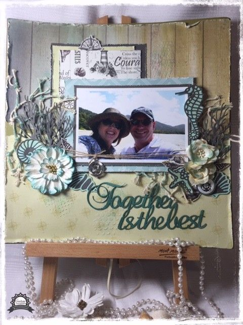Couture Creations Sea Breeze Seagulls Over the Ocean Die Set | Crafts U Love