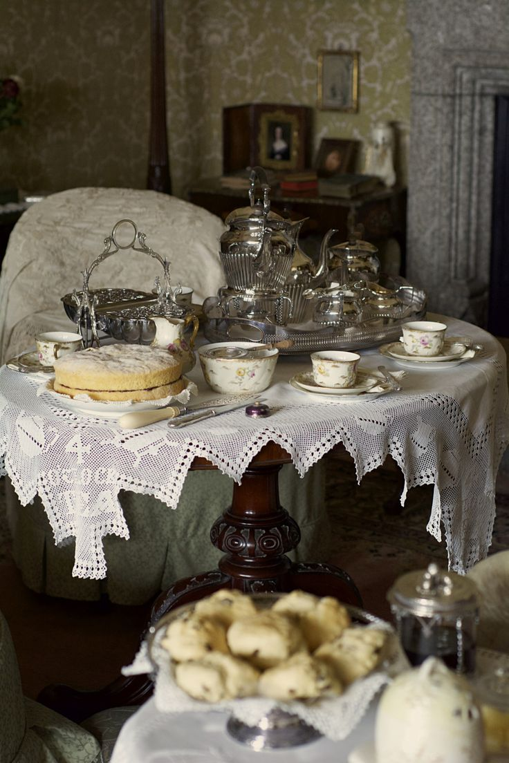 "shawky-photographs: "" Afternoon Tea? Lanhydrock House - Cornwall """