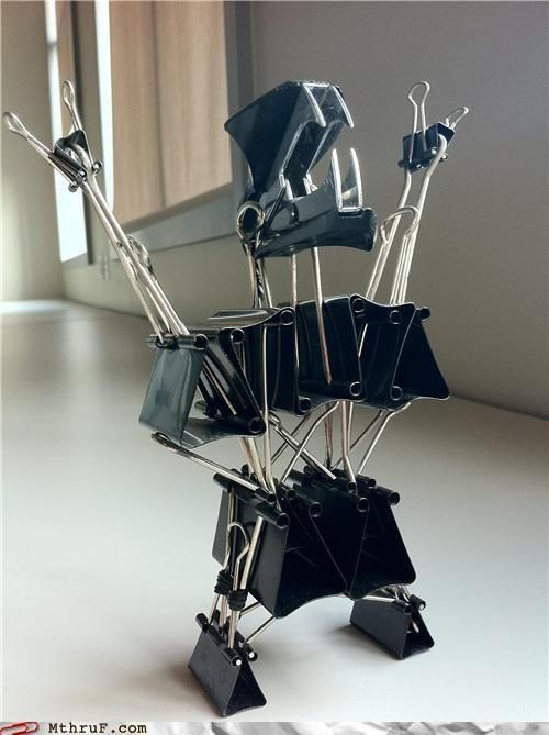 office supply sculpture contest!
