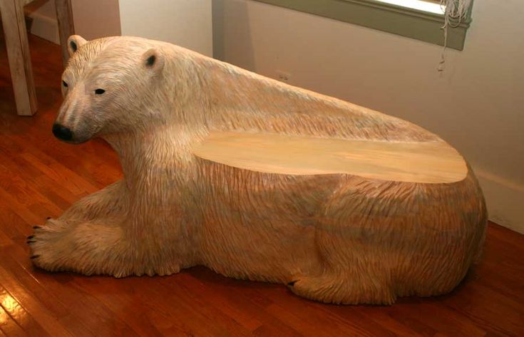 Polar Bears on pottery | On Vacation by Artist Clay Simpson
