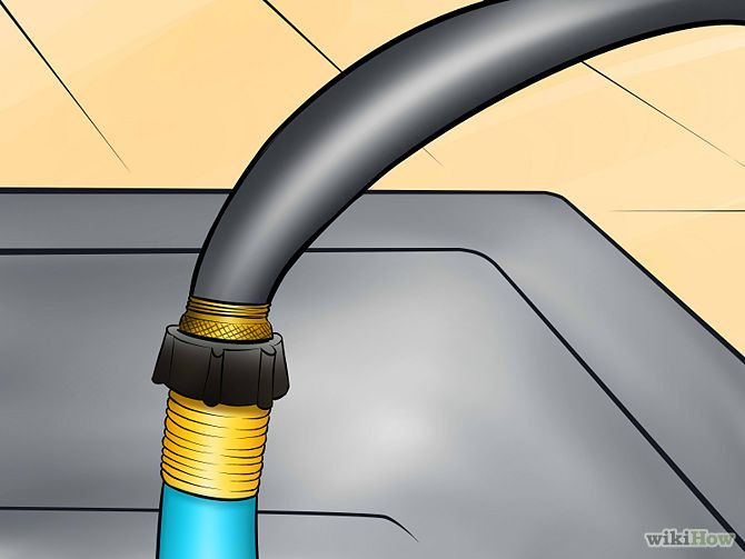 How To Attach A Garden Hose To A Kitchen Faucet