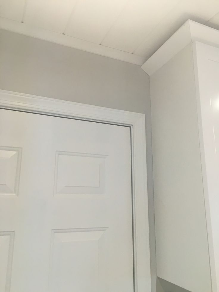 Repainted The House Agreeable Gray And Trim White
