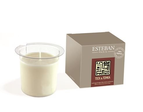 Esteban Paris TECK & TONKA Refill for Scented Decorative Candle
