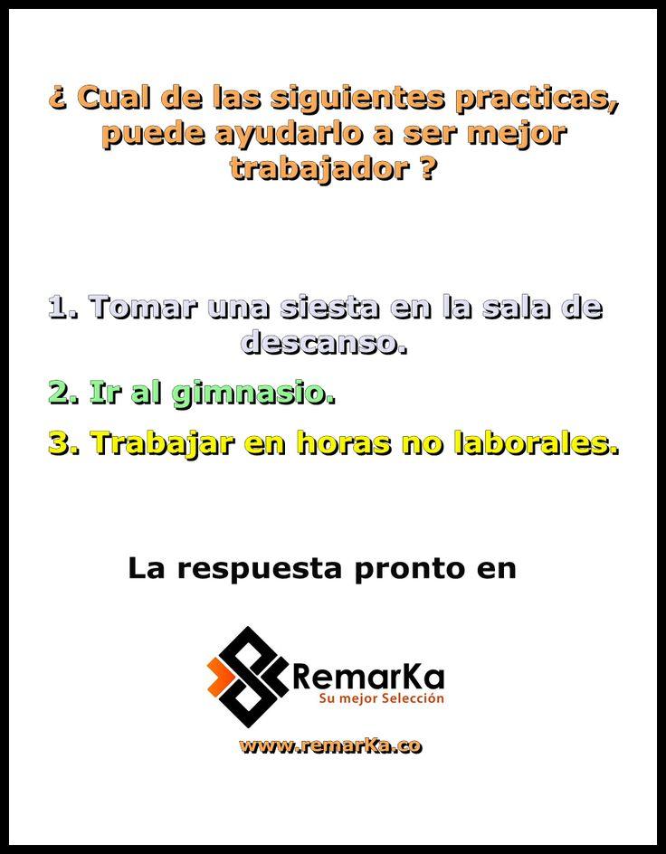 Consultenos en: www.remarka.co mercadeo@remarka.co