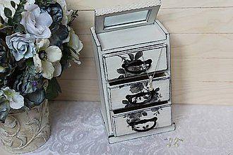 Krabičky - romantická šperkovnička - 6372921_