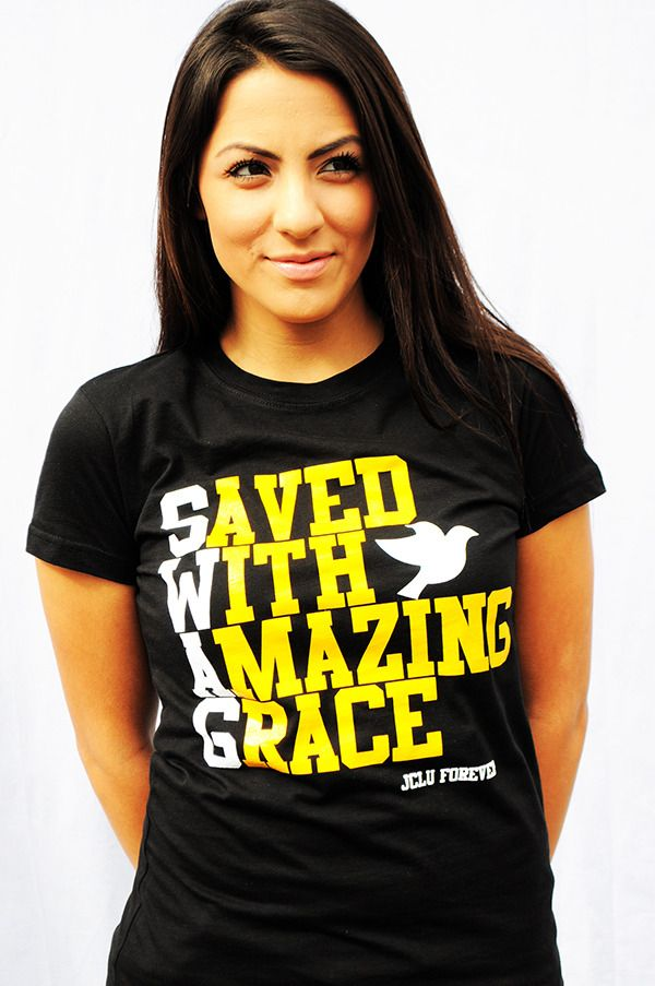 Saved with amazing grace <3