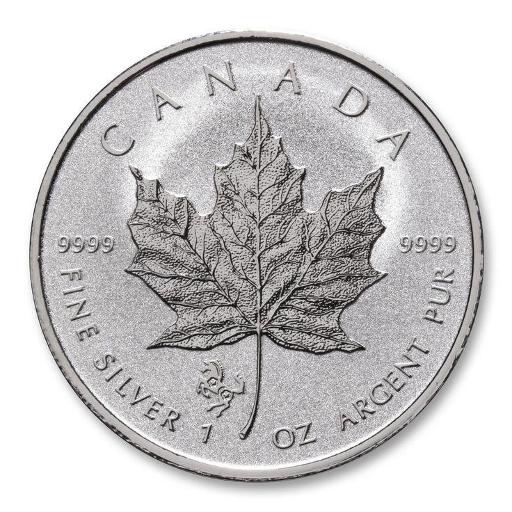2014 Lunar Year of the Horse 1 oz Privy Silver Maple Leaf