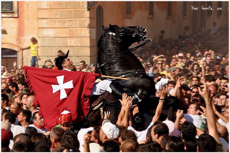 Festes de Sant Joan Ciutadella de Menorca. Caragol des Born