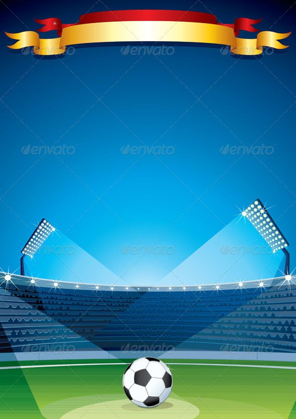 Soccer Stadium Background. Vector Design Template #GraphicRiver Soccer Stadium Background. Vector Design Template - vector illustration with simple gradients - vector graphics with CMYK colors for print - zip file contains images: AI, CDR, EPS, JPG Keywords: champions, european, spanish, spain, germany, brazil, victory, goal, score, retro, player, footballer, olympic, olympiad, 2014, cup, trophy SPORT & LEISURE VECTOR CLIP ART FUNNY CARTOON CHARACTERS, ANIMALS, OBJECTS… MORE VECTOR FONTS…