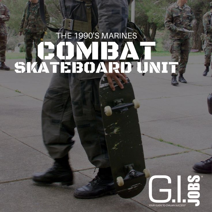 The Marine Corps Tested a Skateboard Unit in the 1990s