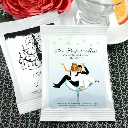 Personalized Wedding Cocktail Mix by Beau-coup, $112