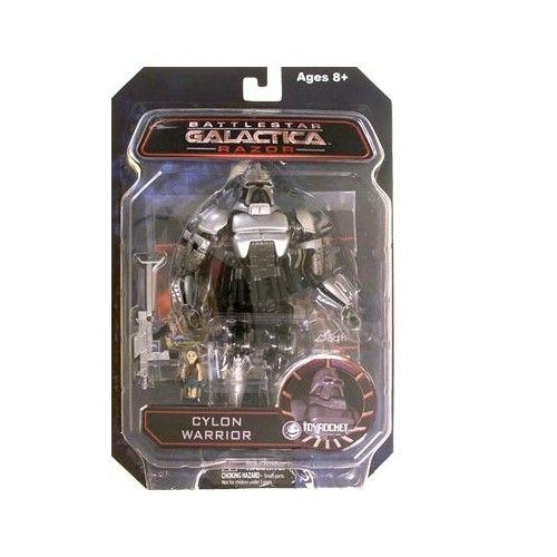 Battlestar Galactica Razor Cylon Warrior 7-Inch Action Figure | ToyZoo.com